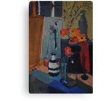 Artists' Studio: Artists Paint... Canvas Print