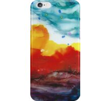 Inky Sunset iPhone Case/Skin