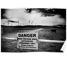 Wind, Voltage and a Cow... Poster