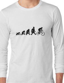 cyclist darwin cycling bike bicycle Long Sleeve T-Shirt