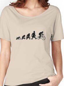 cyclist darwin cycling bike bicycle Women's Relaxed Fit T-Shirt