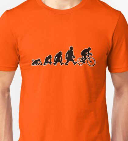 cyclist darwin cycling bike bicycle Unisex T-Shirt