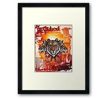 endangered Framed Print