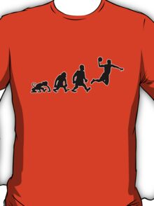 basket basketball darwin evolution T-Shirt