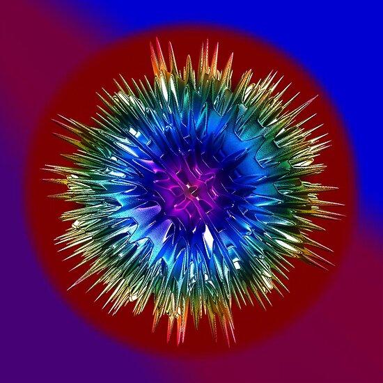 Rainbow Sparkle by Marie Sharp