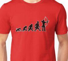 archery darwin evolution bow Unisex T-Shirt