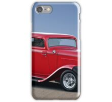 1932 Ford 'Full Fendered' Coupe iPhone Case/Skin