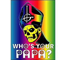 WHO'S YOUR PAPA? - technicolor Photographic Print