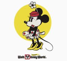 Vintage Minnie Mouse Disney World Florida Kids Clothes