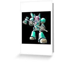 Mech.Cat HAMMER Greeting Card