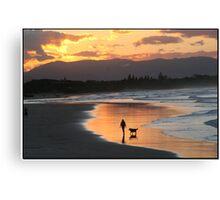 Byron Beach Canvas Print