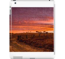 Sunset, Hill End iPad Case/Skin