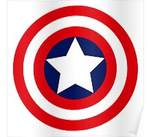 captain´s america logo Poster