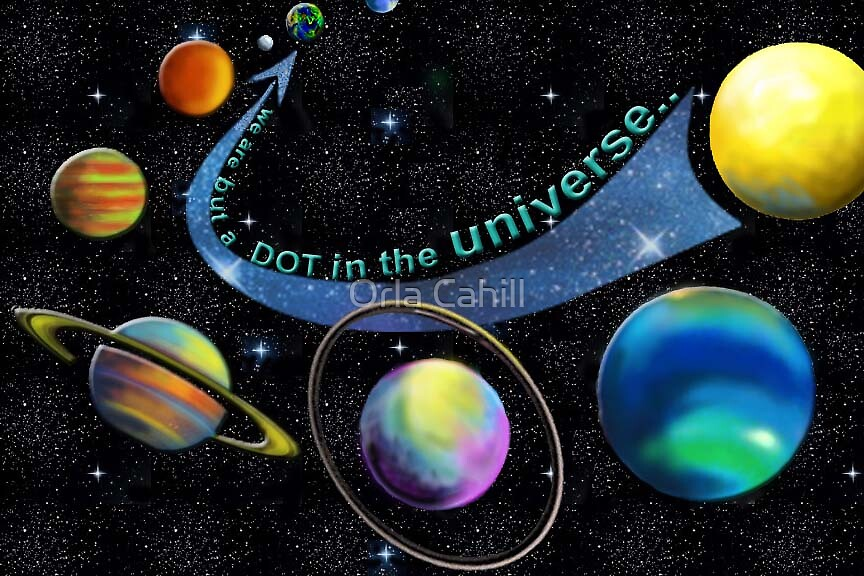 A Dot in The Universe by Orla Cahill