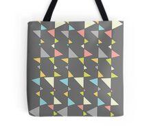 Retro Triangles Tote Bag