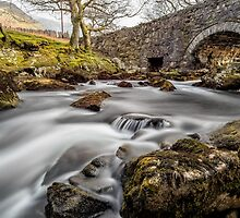 River Ogwen Bridge by Adrian Evans