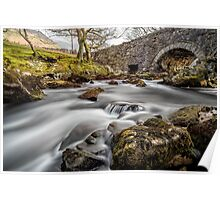 River Ogwen Bridge Poster