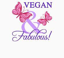 Vegan and Fabulous Womens Fitted T-Shirt