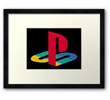 Original Playstation Logo Framed Print