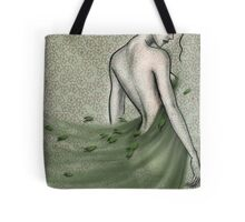 she brought the wind and dreamed in silence... Tote Bag