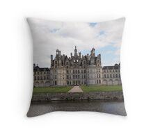Château de Chambord Throw Pillow