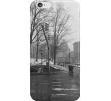 Snowy City iPhone Case/Skin