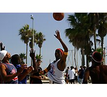 HOOPS IN VENICE 1 Photographic Print