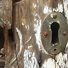 Old Keyhole by Sarah Mosbey