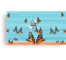 A Butterfly Dream Canvas Print