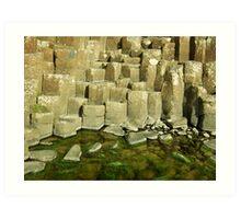 Giant's Causeway, Northern Ireland Art Print