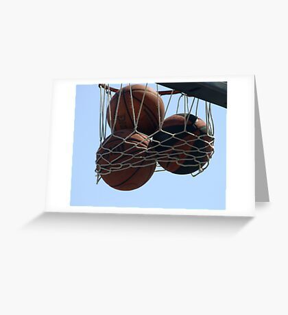 HOOPS IN VENICE 4 Greeting Card