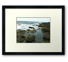 Giant's Causeway coast of Northern Ireland Framed Print
