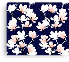 magnolia midnight Canvas Print