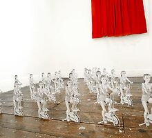 Buns of Steel-installation overview by baby  guerrilla