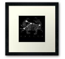 Cancer Constellation Sign  Framed Print