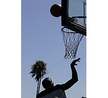 HOOPS IN VENICE 7 Photographic Print