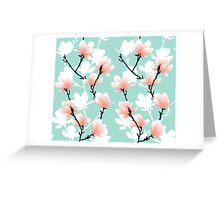 magnolia mint Greeting Card
