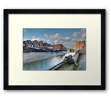 River Hull Framed Print