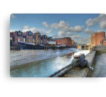 River Hull Canvas Print