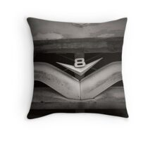 Vintage Ford V8 Throw Pillow