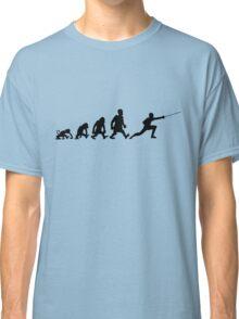 fencing escrime darwin evolution Classic T-Shirt