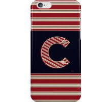 BROOKLINER BOSTON 1920s MONOGRAM initial  C iPhone Case/Skin