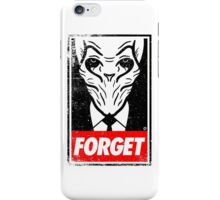 Obey The Silence iPhone Case/Skin