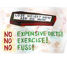 Lose Weight Now Ask Me How Poster