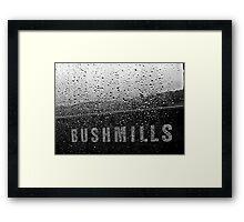 Bush & Water Framed Print