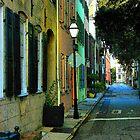 Back Street in Charleston by Rodney Williams