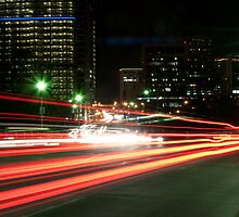 City on the Move II by Jarret Baker