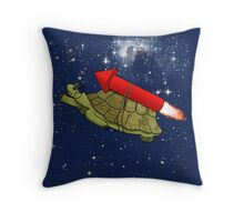 Flying Tortoise Throw Pillow