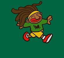 cartoon rasta reggae afro boy Unisex T-Shirt