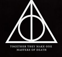 Harry Potter Deathly Hallows by hopealittle